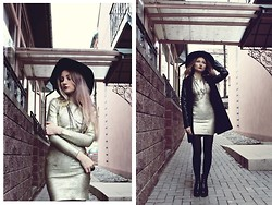 ♡Anita Kurkach♡ - Banggood Shoes, Vateno Coat, Udobuy Dress, Asos Necklace - Waiting Game.