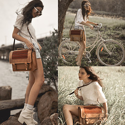Elle-May Leckenby - Beara Sol Satchel, Lekker Creme Sportief Bike - Escape