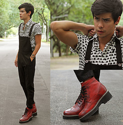 Vini Uehara - Guidomaggi Shoes, Stark Street Clothing Shirt - Elephant
