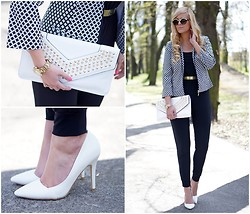 Estelle Fashion - Cristina Effe Jacket, Papilion.Pl Shoes, Fleq Bag - Classic elegance
