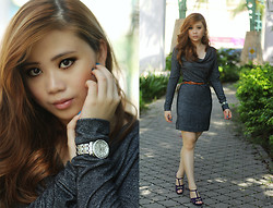 LiTing Tey - Guess? Watch, Mango Dress, Charlesandkeith Heels - ELEGANCE
