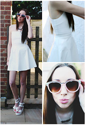 Sammy C - River Island Sunglasses, Rare Dress, Glamorous Sandals - Rare