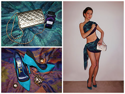Beauty Mark Lady - Chanel Purse, Bakers Shoes Heels, Lanvin Fragrance - Dare yourself    (beautymarklady.com)