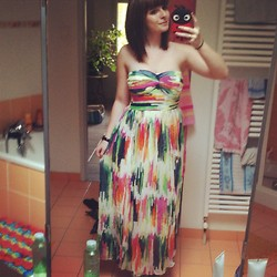 Clara Theophilia - Dress - Colorful dress