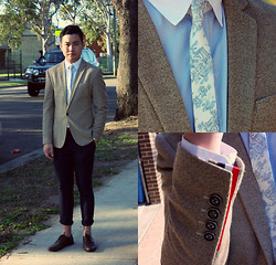 Style Detective Men's Lookbook -  - Blue Sunshine