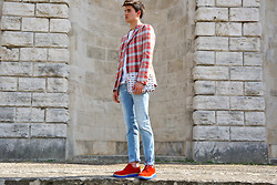 Filippo Bologni - People Jacket, Pulchrum Shoes - Tartan Jacket