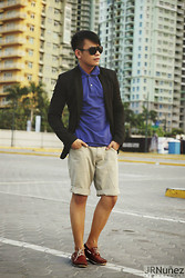 Bibo Bayona - Calvin Klein Eyewear, Zara Suit, Uniqlo Polo Shirt, Penshoppe Walking Shorts - Happy Easter Folks