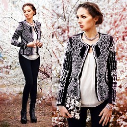 Lena Tsoon - Choies Jacket, Persun Bracelet - Христос Воскрес!