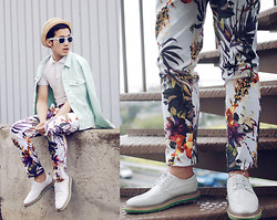 KIKO CAGAYAT - Zealotries Sarpedon Pants, Zealotries Jose Shoes, H&M Sunnies - Where`s my milkshake?