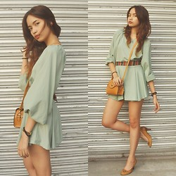 Sophie Quiray - Zara Dress - Green Is The Color Of Nature [420]