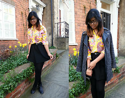 Tasnim H. - Blouse, Next, Primark Skirt, - Sweet Spring