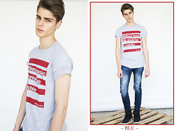 Blu Equis - Meandyu T Shirt, Pull & Bear Jeans - WITHOUT MUSIC LIFE'D BE A MISTAKE