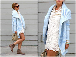 Czech Chicks - Cradigan - Baby Blue cardigan