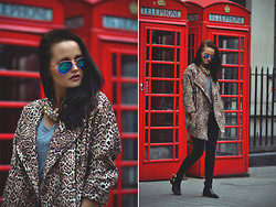 Patrycja T - F&F Jacket, Shoelook Shoes - London look