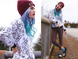 Alanna Durkovich - Civil Clothing Homage Crewneck, Civil Clothing Beanie - Paying Homage