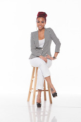 FirstEstate Clothing -  - Boss Not Bossy Blazer by First Estate Clothing