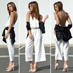 Friend in Fashion * - Nasty Gal Jumpsuit, Nasty Gal Bomber, Nasty Gal Privilige Buckle - NASTY GAL
