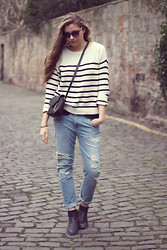 Pipsa S - Mango Striped Sweater - Simple