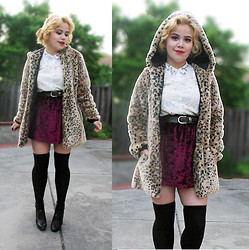 Allison K - Forever 21 Fur Coat - Fierce