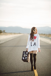 Christine Hsu - Foreign Exchange Sweater Dress - L o s  A n g e l e s