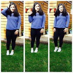 Israa A - Zara Jumper, Jeans, Converse, Guess? Watch - Isometric