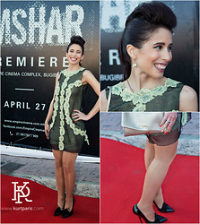 Caroline Paris -  - Red Carpet Style Blogger for Simshar