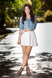 Mariely Anais -  - The Denim Shirt
