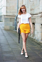 SecretFashion Love - Zara Blouse, Zara Shorts, Tamaris Heels, Asos Bag - Oh Summer