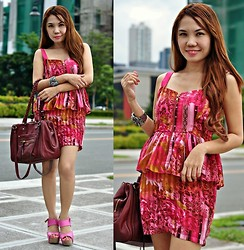 Julie Lozada - Wholesale Dress.Net Bag, Korean Brand Shoes, Random Shop Dress - Pink for Summertime