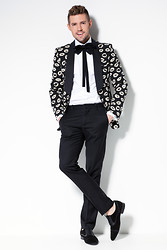 Markus Riva - Tom Rebl Jacket, H&M Pants, Tom Rebl Bow Tie, Zara Shoes - Kiss me once