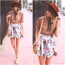 Steffy Degreff - Insane Jungle Skirt - FLORAL FREEDOM ♥