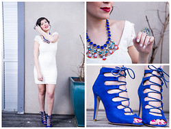 Reut Shechter - Fashunter Necklace, Asos Shoes, Cheap Monday Ring, Castro Dress - It's all about the Shoes