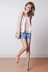 Tricia Gosingtian - Just G Top, Just G Shorts, S&H Flats - 050714