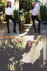 Gaia Kay - Forever 21 Top, Doctor Martens Shoes - The bat top 2
