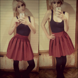 Carolencia Zajączkowska - Amisu Top, Es Collection Skirt - GIRLY OUTFIT
