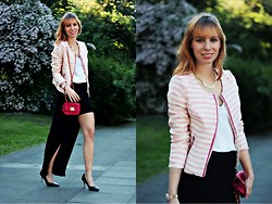 SecretFashion Love - Fashionunion Blazer, Asos Cut Out Skirt - Cut Out Skirt
