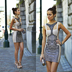 Ruxandra Ioana - Udobuy Dress - Nude ~