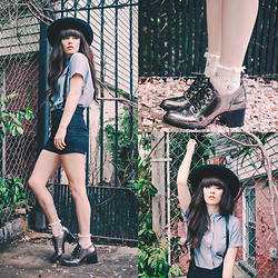 Rachel-Marie Iwanyszyn - Suspender Shorts, Ruffle Socks, Shoes - LIKE NO OTHER YOU CAN'T BE REPLACED.