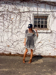 Anna Schowe - Free People Dress - Navy