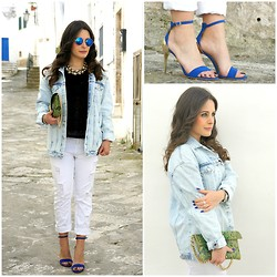 Annalisa Masella (www.insideme.it) - Zara, Zara, Zara, La Fille Des Fluers, Chicnova - Denim I love you