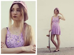 ♡Anita Kurkach♡ - Persun Dress, Asos Shoes, Topshop Cap -  Yo-Yo!