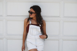 "Chloe Parr - Topshop Overalls, Nordstrom Bralette - It's Just ""Overall"" Cool"