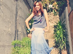 Venus Smileygal -  - Gradient Maxi Skirt