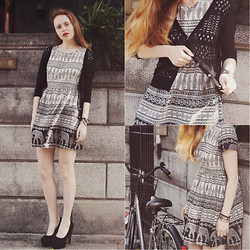 Kristina Magdalina - 6ks Dress, Oasap Shoes, Oasap Cardigan, Oasap Bracelet - Wonderful mood