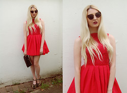 Laura Rogan - Jones And Dress, Oasap Sunnies, House Of Fraser Bag, Jeffrey Campbell Shoes - Summer formal