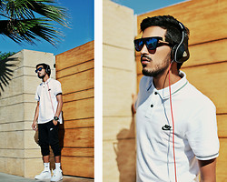 Mohcine Aoki - Beats By Monster Beat Dna, Nike, Nike, Nike, Nike Air Force 1 - NIKE x MONSTER DNA