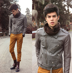 Vini Uehara - Mepcy Jacket, Levi's® Pants, Guidomaggi Shoes - I'm gonna swing from the chandelier