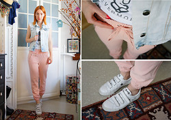 Cosima Hagmann - Converse Sneakers - Pastell Spring