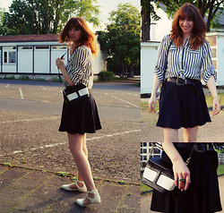 Jessica - Pull & Bear Skirt, Primark Sandals - Sunny Afternoon