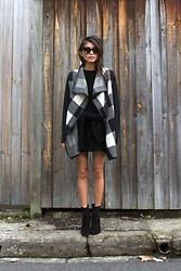 Yan Yan Chan - Oskar The Label Jacket, Zara Boots, Chloé Sunnies - All about the coat